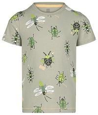 HEMA Kinder T-shirt Insecten Middengroen (middengroen)-Huismerk - Hema