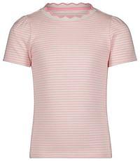 HEMA Kinder T-shirt Rib Strepen Roze (roze)-Huismerk - Hema