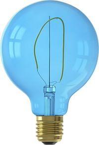 HEMA LED Lamp 4W - 80 Lm - Globe - G95 - Blauw-Huismerk - Hema