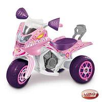 B-Trike Electrische Driewieler roze-Loko toys