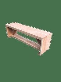 Wood4you tuinbank Nick douglashout 130x38x43cm-Name-IT
