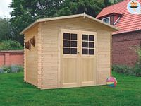 Solid tuinhuis Amberg hout 298x248cm-Solid