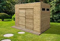 Solid tuinhuis Angri met EPDM 200x300cm-Solid