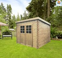 Solid tuinhuis Hof hout 248x248cm-Solid