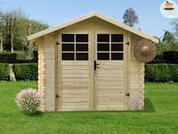 Solid tuinhuis Initia Lublin hout 238x238cm-Solid