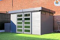 Solid tuinhuis Sjobo hout 8,62m² 335x255cm-Solid