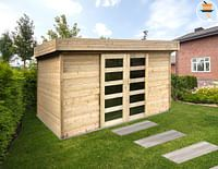 Solid tuinhuis Stockholm hout 362x244cm-Solid