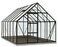 ACD serre Intro Grow Oliver gehard glas & aluminium zwart 9,9 m²-ACD