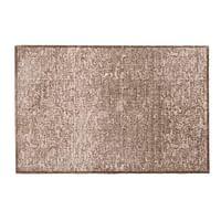 Mat Soft & Deco Velvet - beige - 67x100 cm - Leen Bakker-Huismerk - Leen Bakker