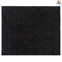 Mat Walk&Wash - zwart - 67x80 cm - Leen Bakker-Huismerk - Leen Bakker