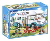 PLAYMOBIL Family Fun 70088 Mobilhome met familie-Playmobil