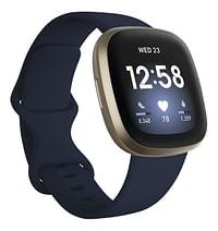 Fitbit smartwatch Versa 3 nachtblauw/goud-Fitbit