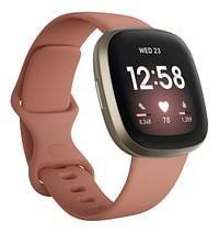 Fitbit smartwatch Versa 3 kleiroze/goud-Fitbit
