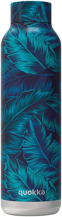 Quokka Isoleerfles Jungle 630 ml blauw-Quokka