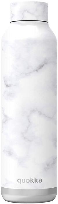 Quokka Isoleerfles Marble 630 ml wit-Quokka