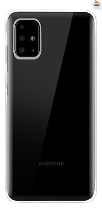 bigben siliconen cover SILI voor Samsung Galaxy A51 transparant-BIGben