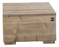 Dutchwood bijzettafel bruin 80 x 80 cm-Dutchwood