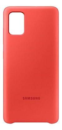 Samsung Galaxy A51 Sillicone Cover roze-Samsung