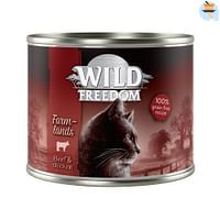 6x200g Adult Valley Konijn & Kip Wild Freedom Kattenvoer-Wild Burrow