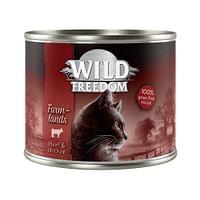 6x200g Adult Wide Country Pure Kip Wild Freedom Kattenvoer-Wild Burrow
