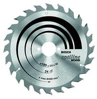 Optiline Cirkelzaagblad 24t (type 3)-Bosch