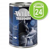 Wild Freedom Adult Kattenvoer 24 x 400 g Wild Hills - Eend & Kip-Wild Burrow