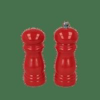 Metaltex Peper- en zoutmolen Spice-line 13 cm rood-Metaltex