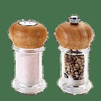 Metaltex Peper- en zoutset 10 cm-Metaltex
