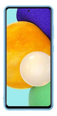Samsung siliconen cover voor Samsung Galaxy A52 blauw-Samsung