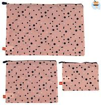 HEMA Bagage Organizers - 3 Stuks - Roze (roze)-Huismerk - Hema