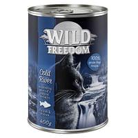 12x400g Adult Cold River Zeezalm & Kip Wild Freedom Kattenvoer-Wild Burrow