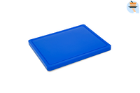 Metro Professional Snijplank blauw 32,5 x 26,5 x 2 cm-Huismerk - Metro