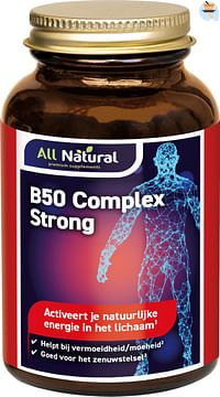 All Natural B50 Complex Strong Capsules-Natural