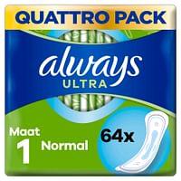 Always Maandverband Ultra Normal 64 stuks-Always