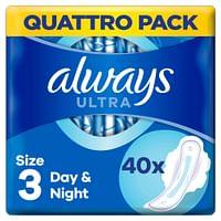 Always Maandverband Ultra Secure Night 40 stuks-Always