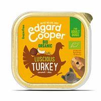 Edgard&Cooper Kuipje Vers Vlees Bio Kalkoen 100 gr-Edgard Cooper