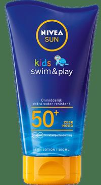 Nivea Sun Kids Swim & Play Zonnemelk SPF50+-Nivea