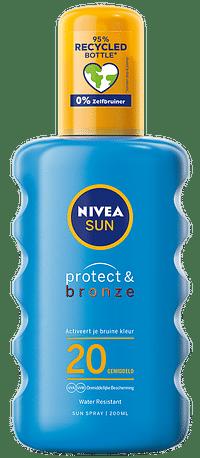 Nivea Sun Protect & Bronze Zonnespray SPF20-Nivea
