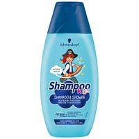 5x Schwarzkopf Kids Boys Piraat Shampoo en Douchegel 250 ml-Schwarzkopf