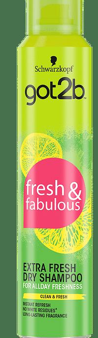 Schwarzkopf Got2b Extra Fresh Dry Shampoo-Got2b