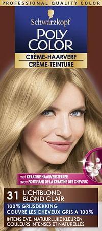Schwarzkopf Poly Color Crème Haarverf 31 Lichtblond-Schwarzkopf