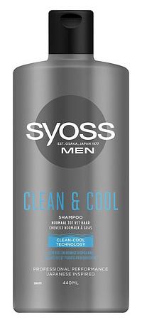 Syoss Men Clean & Cool Shampoo-Syoss