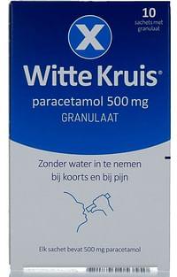 Witte Kruis Paracetamol 500mg Granulaat-Witte reus