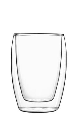 Luigi Bormioli Drinkglas dubbelwandig 27 cl 2 stuks