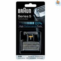 Braun Scheerkop 51S Series 5 Folie en Messenblok-Braun