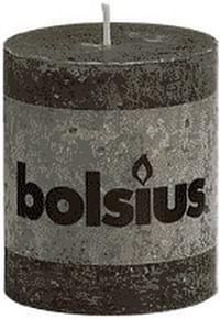 Stompkaars 80/68 Rustiek Antraciet-Bolsius
