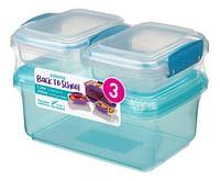 Sistema lunchbox Back To School - 3 stuks-Sistema