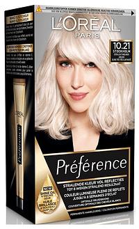 L'Oréal Paris Preference 10.21 Stockholm Extra Licht Parelmoer Asblond-Paris