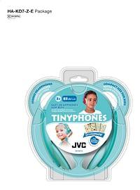 JVC Hoofdtelefoon Tinyphones HA-KD7-Z blauw groen-JVC