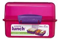 Sistema brooddoos Trends Lunch Cube roze-Sistema